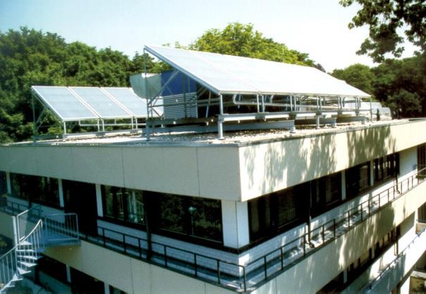 Climatisation solaire thermique