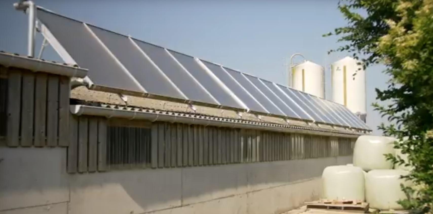 Le solaire thermique couvre 50 � 60 % de mes besoins en eau chaude sanitaire